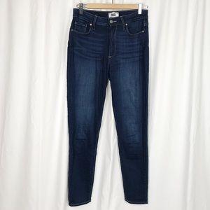 Dark wash Page skinny jeans